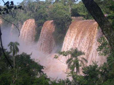 Las espectaculares Cataratas del Iguazú